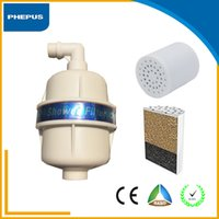 best shower filters - Best price Universal Chlorine Remove Stage KDF Carbon House use Bio Shower Water Filter Cartridge