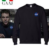 apollo sports - High Quality NASA Man The Martian RKA APOLLO ESA SPACE Men amp Women Hoodies Homme Brand Clothing Homme Man Sport Sweatshirt