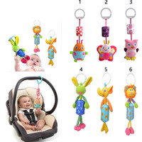 Wholesale Butterflies ladybugs owls the large bell hanging bells Lathe hanging ring baby toys