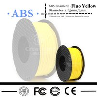 Wholesale New Arrival d printer Filament ABS filament mm MM kg spools for createbot d printer