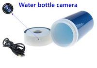 Wholesale Spy camera AVI water bottle cup model camera Mini hidden Cameras DV DVR Video voice recorder spy cam listening moniter device