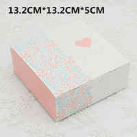 Wholesale quot FOR YOU quot Printing Paper Packaging Boxes Carton Moon Cake Boxes For Wedding Candy Birthday Party Gift Paper Boxes