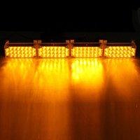Nueva 22x4 12V LED flash ámbar coche de la luz de emergencia 4 bares de advertencia ENVÍO GRATIS estroboscópico de la lámpara auto