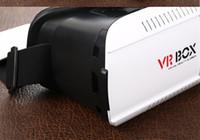 Wholesale VR BOX For phone D Virtual Reality Glasses VR virtual reality game storm helmet mirror
