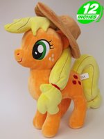 apple collectible - My Friendship Is Magic Action Toys Figures Hobbies Plush Unicorn Horse Cartoon Model Little Cute Pony Apple Jack Toys Action Figures