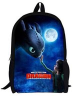 Wholesale 2016 new Anime How To Train Your Dragon Children s backpack Cartoon Schoolbag Pupils Shoulders Bag Kids Backpack High Quality