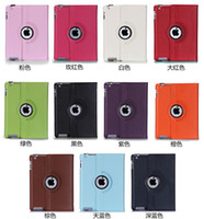 Wholesale For iPad Pro Pu Leather Rotating Case Smart Stand For iPad Air Galaxy Tab Mini Retina Folding Case