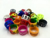 best logo colors - Factory price custom best Silicone ring vape band silicone vape band mix colors box mod wide vape band with OEM logo