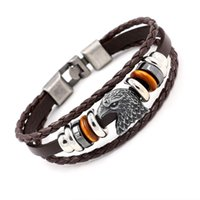 bean toggles - new arrived eagle and european beans bracelets for men