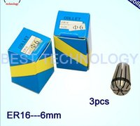 Wholesale 3 mm for CNC milling ER16 collet chuck lathe tool and spindle motor