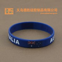 aa jellies - AA American flag silicone bracelet USA the union jack wristbands The world flag The silicone bracelet Both men and women Radiation protect