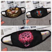 Wholesale 2016 NEW D print Tigers lions Face Masks Thick Warm Anti Dust Haze Cotton Mouth Mask Muffle Winter Guaze Mask Respirator mouth mask