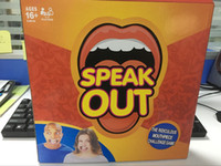 Wholesale 2016 New Speak Out Games Ridiculous Mouthpiece Challenge Game game for your mouthpiece with paper cards best selling factory price