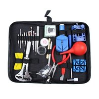 Wholesale 2016 New HIgh Quality in1 Watch Link Opener Repair Remover Case Tool Kit Set Pin Screwdriver order lt no track