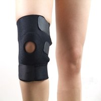 Wholesale Sport Training Knee Support Brace Adjustable Knee Pads Hole Kneepad Safety Guard For basketball volleyball