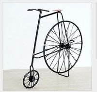 antique iron model car - Iron vintage bicycle model bicycle vintage cars crafts furnishings ancestors X016