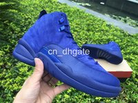 arrival increase - 2016 New Arrival Air Retro PSNY Men And Women Basketball Shoes Retro s Premium Blue OVO Wool Trainers Sports Sneakers