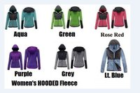 Wholesale Light warm sport jackets Women Autumn fleece hoodie dozen colors for different personal request high quality with dustbags
