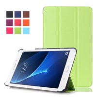 Wholesale Hot selling case for Sumsung business case cover colors EVA Case for Sumsung Galaxy Tab A t280 t285 leather case