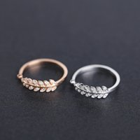 amazing and beautiful - beautiful rose gold plated and white gold plated open adjustable size amazing real sterling silver ring