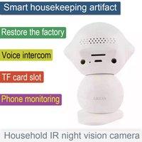 2016 Hot 720P HD H.264 IP Webcam WIFI Caméra bidirectionnelle voix à utiliser le système de caméra de sécurité sans fil avec accessoires de logiciels libres