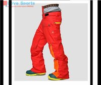 Wholesale Newest High Quality Winter Sports Men Ski Pants Different Color Snowboarding Pant Waterproof Windproof Ski Pant