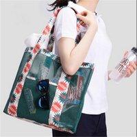 Wholesale Fashion Net Travel Shoulder Bag Female Shopping Bag Bag of Sand Bag to Receive Bag Drop Shipping