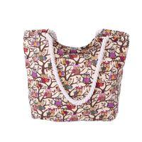 Wholesale Cute Owls Branch Womens Fashion Canvas Handbag Tote Bag Beach Work Shopping Shoulder Bag