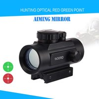 Wholesale New x RD Tactical Holographic Red Green Dot Sight Scope Project Picatinny Rail Mount for Shot Gun Hunting Airsoft