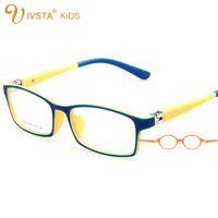 Wholesale IVSTA Children Frames Optic Child Glasses Frame Pattern Character Birthday Party Decorations Kids Infantil TR degree spring hinge