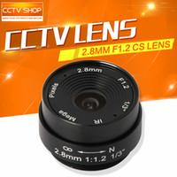 Wholesale Board mm Lens Degree CS Mount Monofocal Manual Iris Lens CCTV Camera Lens For CCTV IP Analog Camera