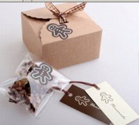 Wholesale 50 Mini Kraft Paper Cake Box Macaron Gift Bakery Cookie Favor Cupcake Chocolate Packaging Box Christmas Wedding TB35