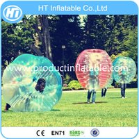 ball bubble game - new style soccer bubble ball inflatable zorb soccer ball bumper ball for football game