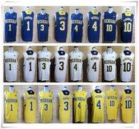 big active - Stitched College Michigan Wolverines Jerseys Big Patch Glenn Robinson III Trey Burke Shirt Uniform Chirs Webber Tim Hardaway Jr