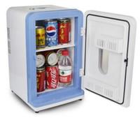 Wholesale 12L Mini car refrigerator car refrigerator car home dual use small household refrigerator cosmetics refrigerated breast milk