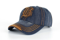Los sombreros libres de los pantalones vaqueros del verano de la venta al por mayor de la fábrica de DHL forman el sombrero de los deportes de los casquillos de golf El sombrero de los sombreros de Sun del tenis del béisbol