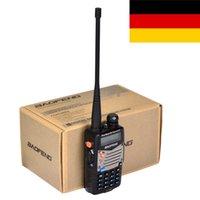 Vente en gros-Hot New Black BaoFeng UV-5RA + Dual Band Two Way Radio 136-174MHz400-520 MHz talkie-walkie livraison gratuite