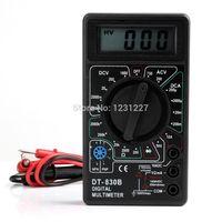 Wholesale Ammeter Voltmeter Ohm Electrical Tester Meter Professional Digital Multimeter