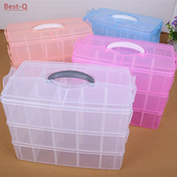 Wholesale Three removable storage box in a covered storage box king tights toy Lego plastic storage box