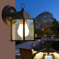 Wholesale American European modern minimalist outdoor balcony lamp wall lamp chandelier waterproof LED American lighting industry commercial lighting