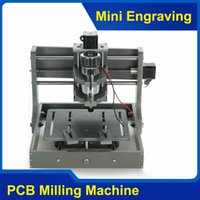 Wholesale PCB Milling Machine CNC B DIY CNC Wood Carving Mini Engraving Machine PVC Mill Engraver Support MACH3 System
