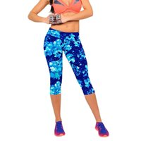 Wholesale Premium Colorful Yoga Running Pants Gifts Woman Sports High Waist Fitness Yoga Run Sport Pants Printed Stretch Cropped Leggings