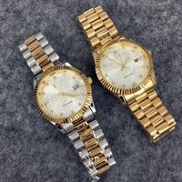 auger types - Luxury brands neutral role look at men and women all appropriate log type watch fashion leisure women watch champagne faceplate set auger
