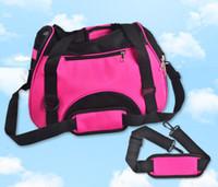 Wholesale Portable Pet Carriers Storage Dog Cage Oxford Cloth Dog Bag Outdoor Travel Handbag Shoulder Bag