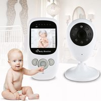 Wholesale 2016 Baby Security Camera Wireless Video Monitor with Night Vision Camera Two way Talk inch Baby Sleep Monitor with Camera