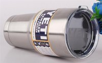 Wholesale 50pcs Hot Bilayer Stainless Steel Insulation Cup OZ OZ OZ YETI Cups Cars Beer Mug Large Capacity Mug Tumblerful