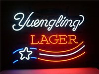 american lager - NEW LAGER AMERICAN FLAG REAL NEON GLASS BEER BAR PUB LIGHT SIGN