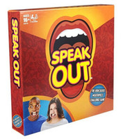Wholesale Speak Out Game Amusement Toys Party Board Game Novelty Games Ridiculous Mouthpiece Challenge Game Friends and Family KTV Games Newest