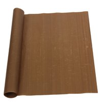 bamboo fabric sheets - Excellent quality CM High Tempreture Resistant Cloth Baking Mat BBQ Sheet Anti oil Fabric Baking Linoleum Reuse Oil Paper