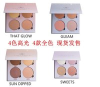 aa powder - HOT Bronzers Highlight Ana Glow Kit Makeup Face Blush Powder Blusher Palette Cosmetic Blushes Brand DHL GIFT aa
